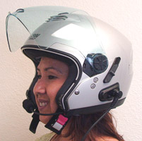 J&M Performance Series 279 Nolan High Output Helmet Headset
