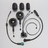 J&M Performance Series 279 Headset High-Output for Open Face Helmet