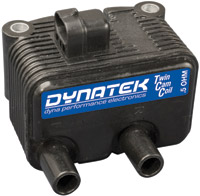 Dynatek 0.5 Ohm Dual-Output Coil for Twin Cam Carb Models and Sportster