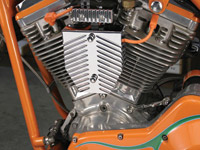 Custom Cycle Engineering Dual-Coil Mounting System with Billet Covers for Softail, FLT and Dyna