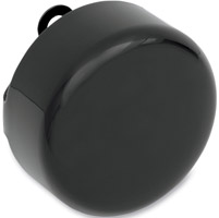 Drag Specialties Black Round Horn Cover