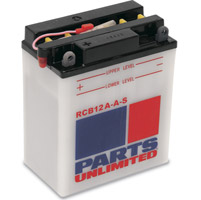 Parts Unlimited Conventional 6V Battery