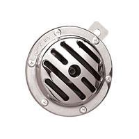 J&P Cycles® Chrome 12V Slotted Universal Horn