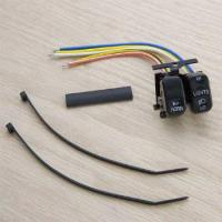 J&P Cycles® Horn and Dimmer Switch
