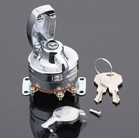 V-Twin Manufacturing Heavy-Duty Electric Ignition Switch