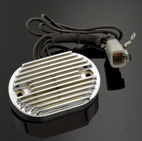 V-Twin Manufacturing Replacement Chrome Voltage Regulator