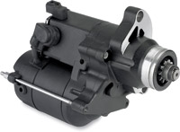 Compu-Fire Black 1.6KW Starter for Twin Cam