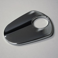 Klock Werks Curvaceous Chrome Ignition Switch Cover for FLH/T Models