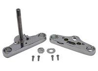 V-Twin Manufacturing Billet Triple Trees for FXDWG 49mm Forks