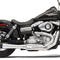Bassani Road Rage II B1 Series 2-into-1 Chrome Exhaust System