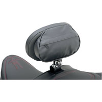 Drag Specialties The Convertible Backrest Assembly with Built-In Seat Rain Cover