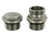Pingel Tank Fitting Kit for Fuel-Injection to Carburetor Conversion