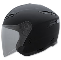 GMAX GM67 Flat Black Open Face Helmet