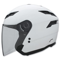 GMAX GM67 Pearl White Open Face Helmet