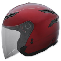 GMAX GM67 Candy Red Open Face Helmet