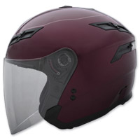 GMAX GM67 Wine Red Open Face Helmet