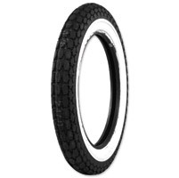 Coker Beck Tread 4.00-18 Wide Whitewall Front/Rear Tire