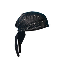 Mustang Leather Headwrap with Studs