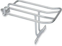 J&P Cycles® Luggage Rack Chrome