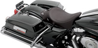 Drag Specialties Solo Front Seat Black Pinstripe Stitching
