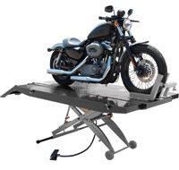Titan Lifts 1000lb XLT Air Motorcycle Lift