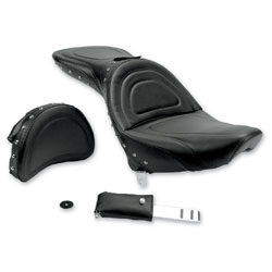 Saddlemen Explorer Special Studded Seat with Driver Backrest