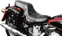 Saddlemen Desperado Black Seat for Softail