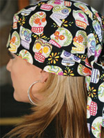 That's A Wrap Fiesta Skulls Headwrap