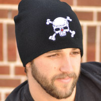 That's A Wrap Skull and Crossbones Beanie