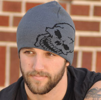 That's A Wrap Skull Beanie