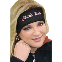 That's A Wrap Chicks Rule Fleece Headband