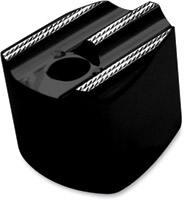 Covingtons Customs Ignition Switch Knob Cover Black Diamond Edge