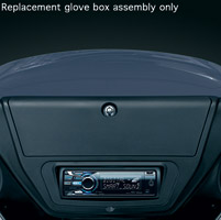 Kuryakyn Replacement Fairing Glove Box for AirMaster Fairings