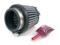 K&N RC-2500 Universal Round Tapered Air Filter