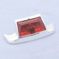 Rear Fender Tip Light Red Replacement Lens