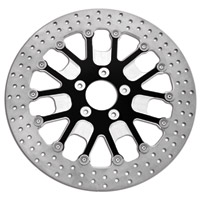 Roland Sands Design Slam Black Ops Two-Piece Brake Rotor Front 11.5″