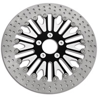 Roland Sands Design Boss Contrast Cut Two-Piece Brake Rotor Front 13″