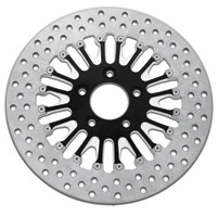 Roland Sands Design Boss Contrast Cut Two-Piece Brake Rotor Front 11.8″