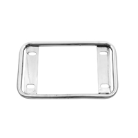 V-Twin Manufacturing 40's Style Chrome License Plate Frame