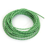 V-Twin Manufacturing Green Wire 25 Foot Length