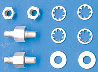 Colony Big Twin Coil Bracket Mounting Studs