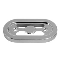 V-Twin Manufacturing Chrome Regulator Cover