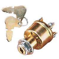 Ignition and Starter Switch for Custom Applications