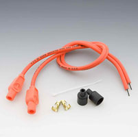 Taylor Custom Colored Hot Orange 8mm Plug Wires