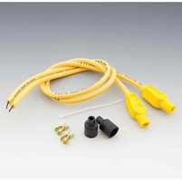 Sumax Custom Colored Yellow 8mm Plug Wires