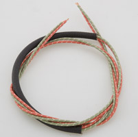 Bruce Linsday Company Cotton Braided Taillight Wires for Tombstone Taillight