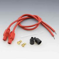 Sumax Custom Colored Red 8mm Plug Wires