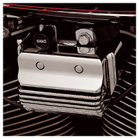 J&P Cycles® Finned Coil Cover