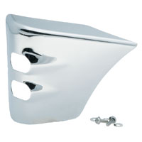 J&P Cycles® Chrome Antique-Style Coil Covers