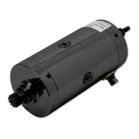 J&P Cycles® Prestolite Black Starter Motor Assembly